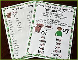 Oi Oy Anchor Chart Activities For Teaching Oi Oy Make Take Teach