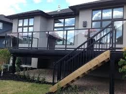 glass deck railing systems home depot uk calgary
