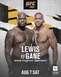 UFC 265: Interims-Titelkampf zwischen Lewis und Gane ist offiziell