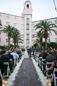 Florida Outdoor Wedding Ceremony At Wedding Venue Dowtown St Pete The Vinoy Renaissance Wedding Photographer The Vinoy St Petersburg Wedding St