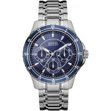 guess longitude w0670g2 watch shade station