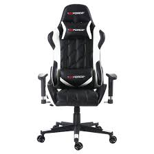 office leather chair. GTFORCE PRO GT RECLINING SPORTS RACING GAMING OFFICE DESK PC CAR LEATHER CHAIR Office Leather Chair