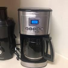 I brew one pot a day and it is used in a house of 3 coffee drinkers. Cuisinart 14 Cup Programmable Coffeemaker Reviews 2021