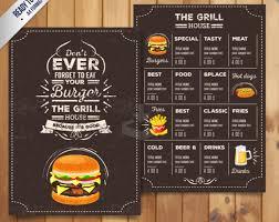 Resturant Menu Template Top 30 Free Restaurant Menu Psd Templates In 2018 Colorlib