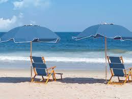 frankford umbrellas oak wood beach chair lounge set