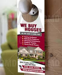 real estate door hanger templates. Door Hanger 5 - Product 1 Real Estate Templates