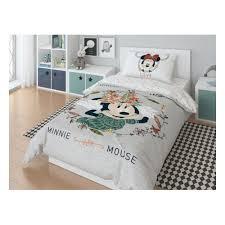 Полутороспальный комплект <b>постельного белья</b> Minnie Mickey ...