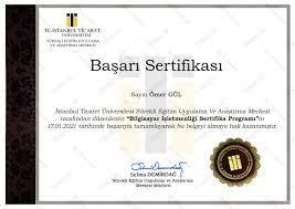 bilgisayar işletmeni sertifikası izmir