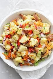 dairy free potato salad cook nourish
