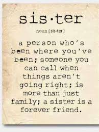 Sister Quote Delectable Unique Wall Art A Sister Is A Person Sister Quote Gift For