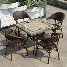 modern restaurant terrace furniture