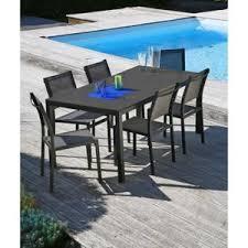 Ensemble salon de jardin table et chaises - Francephotostourisme.fr