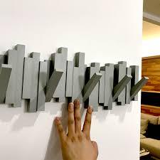 Row Of Hooks Coat Rack USD 100100] umbra creative Decoration Wall hanger hooks door after 100