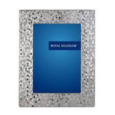 royal selangor mirage honeycomb pewter photo frame
