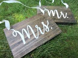 wood decor signs s chair signs and s and s wood signs wedding chair signs wood