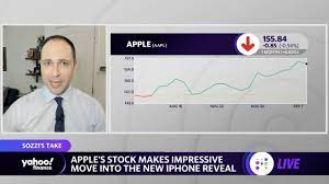 Apple stock up, Sept 14 product event ...