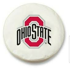 Tire Cover Size Chart Details About Ohio State Buckeyes White Vinyl Spare Tire Cover By Hbs Size Y