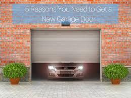 new garage doorsReasons Why You Need A New Garage Door