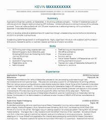 Product Development Engineer Resume Applications Engineer Automotive