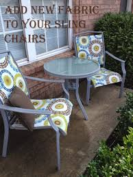 funky patio furniture. #Patio Sling Chair #redo Thealteredpast.blogspot.com Funky Patio Furniture T