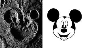 痛いニュースノ 水星でミッキーマウス発見探査機