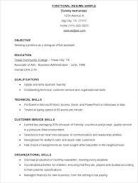 Hybrid Resume Template Simple Hybrid Resume Example Hybrid Resume Samples Example Reverse