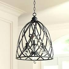 franklin iron works lighting iron works bell cage high metal mini chandelier franklin iron works pendant