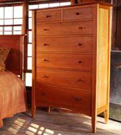 Handmade Natural Cherry Bedroom Furniture Sets | Real Solid Wood |  Exclusive American Made