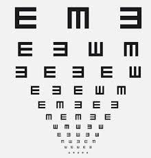 E Chart Test 17 Surprising Online Vision Test Chart