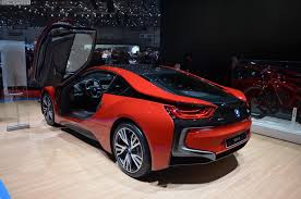 bmw 2015 i8 red.  Red BMW I8 Protonic Red Edition Autosalon Genf 2016 LIVE 07 750x497 In Bmw 2015 I8