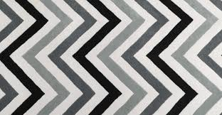 black and cream chevron rug designs