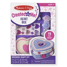 Melissa And Doug Decorate Your Own Jewelry Box Craft Kits for Kids Easy Craft Sets for Kids Melissa Doug 84