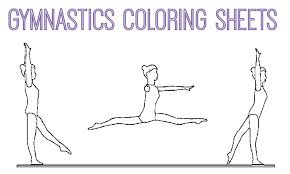 Small Picture Gymnastics Coloring Pages
