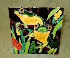 australian ceramic tree frog picture