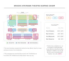 Sondheim Theater Seating Chart Beautiful The Carole King Stephen Sondheim Theatre