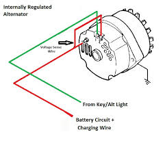 ford alternator wiring diagram external regulator ford older alternator wiring diagram internal regulator older on ford alternator wiring diagram external regulator