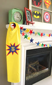 Personalized Superheroes Diy Personalized Superhero Cape From A T Shirt Happiness