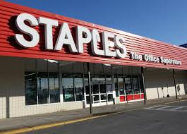 giant office supplies. Credit: Angela Rowlings (file). Staples Office Supply Store Giant Supplies