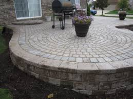 Raised paver patio Ideas My Crew And Reconstructed The Outside Retaining Wall For This Patio From The Ground Up Compacting Each Layer As We Go And Filling Any Voids Brick Paverscantonann Arborplymouthpatiopatiosrepairsealing Brick Paverscantonann Arborplymouthpatiopatiosrepairsealing