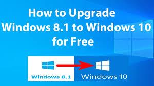 How To Upgrade Windows 8 To Windows 10 Upgrade Windows 8 1 To Windows 10 For Free