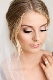 bridesmaid makeup awesome 50 romantic wedding make up ideas for brunette viscawedding