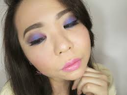 blue and purple party look with makeover trivia eyeshadow in swedish party makeup tutorial