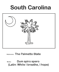 Usa Printables South Carolina State Flag State Of South Carolina