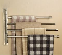 towel bars wall mounted single multiple and swing