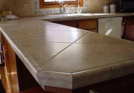 tiled kitchen countertops pros and cons