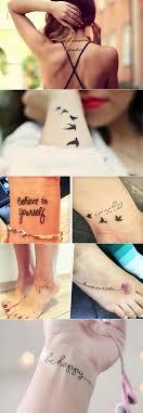 красивые маленькие тату фото идеи маленьких тату для девушек