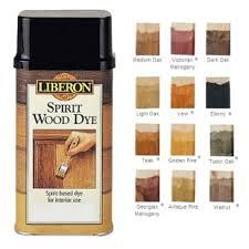 Liberon Spirit Wood Dye 250ml Ebony Ray Grahams Diy Store