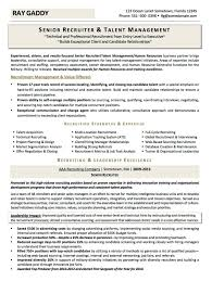 resume examples cv sample resume templates rso resumes 2 military transition recruiter talent management