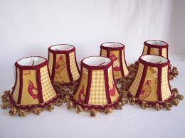 french country roosters chandelier shades set dressmyshade