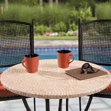 great round outdoor table cover pi di 25 fantastiche idee su round patio table su
